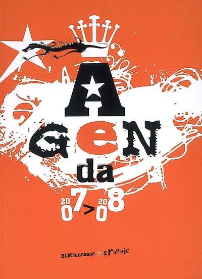 AGENDA 2007-2008 (COUVERTURE ORANGE)