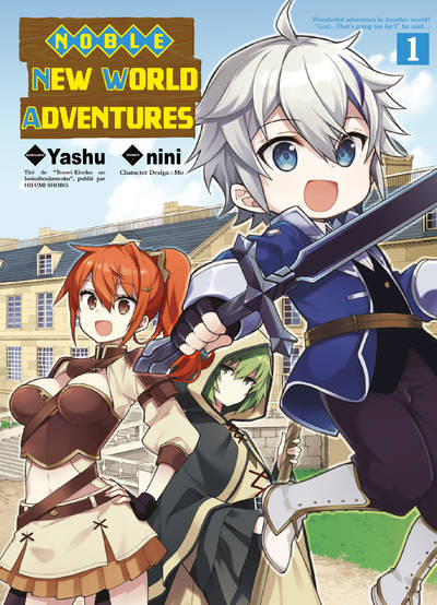 Noble new world adventures T01