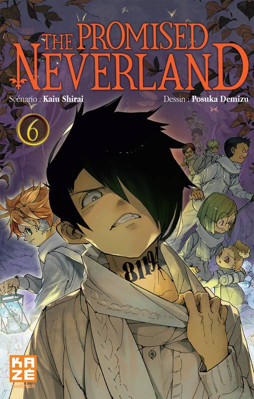 6, The Promised Neverland T06