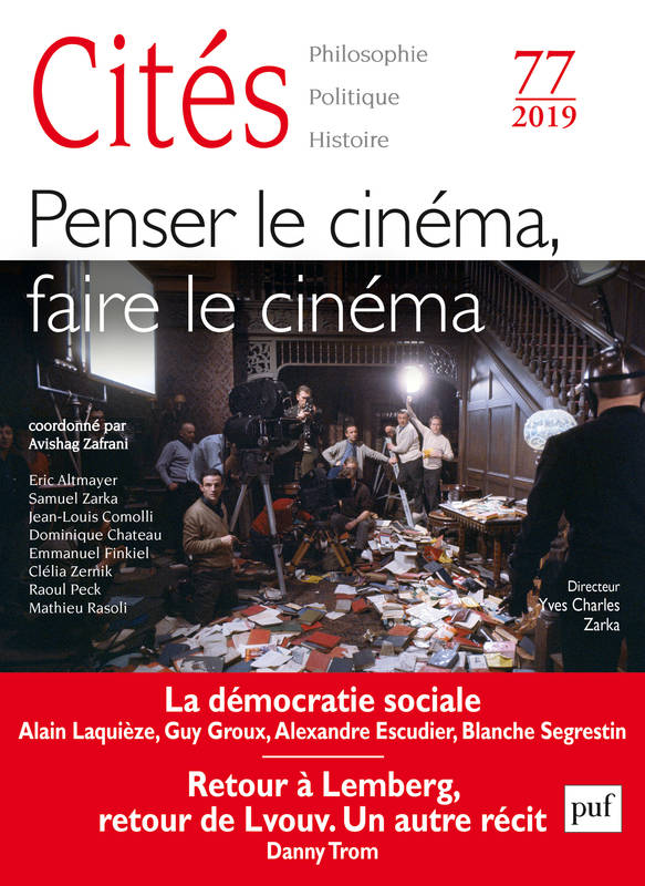 CITES 2019, N  77 - PENSER LE CINEMA, FAIRE LE CINEMA