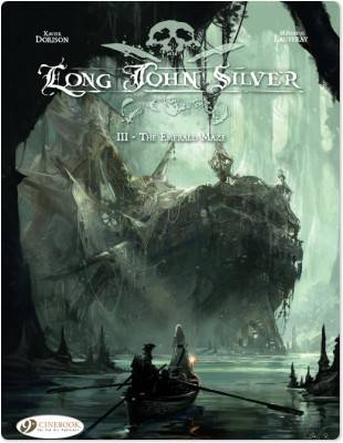 The emerald maze - Long John Silver , T3