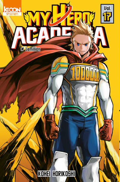 17, My hero academia , Le million