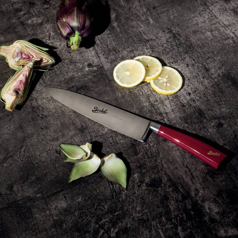 COUTEAU ELEGANCE RED CARVING KNIFE 22CM