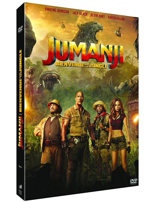dvd / Jumanji bienvenue dans la jungle / Dwayne Johnson  Jack