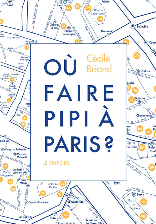 Où faire pipi à Paris ?