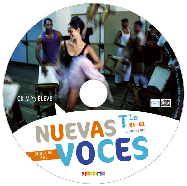 Nuevas Voces Tle - CD MP3 de remplacement