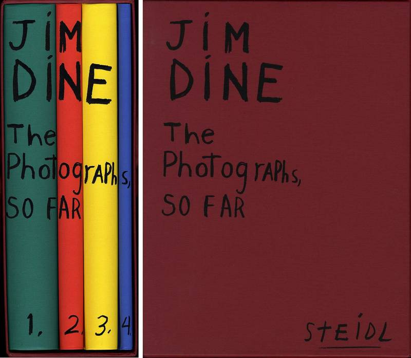 Jim Dine. The photographs, so far
