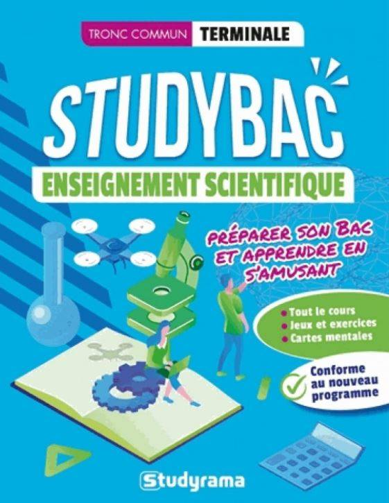 Enseignement scientifique, terminale, tronc commun