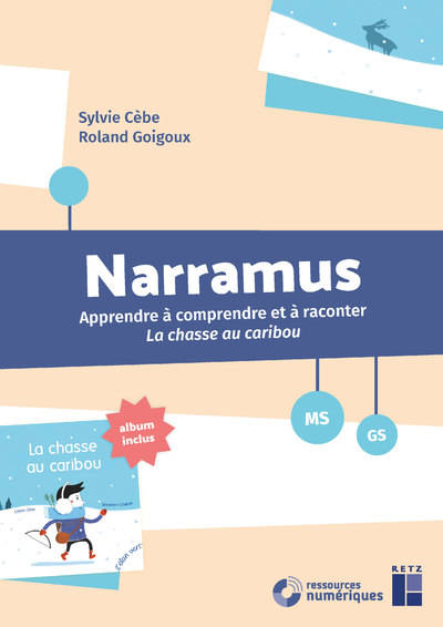 Narramus : La chasse au caribou MS-GS + CD-Rom