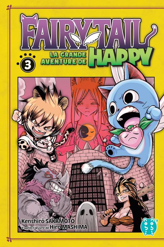 Fairy Tail - La grande aventure de Happy T03