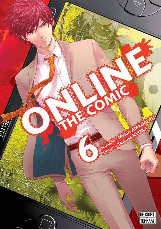 6, Online the comic T06