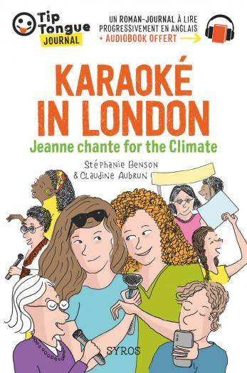 Karaok London - Jeanne chante for the Climate
