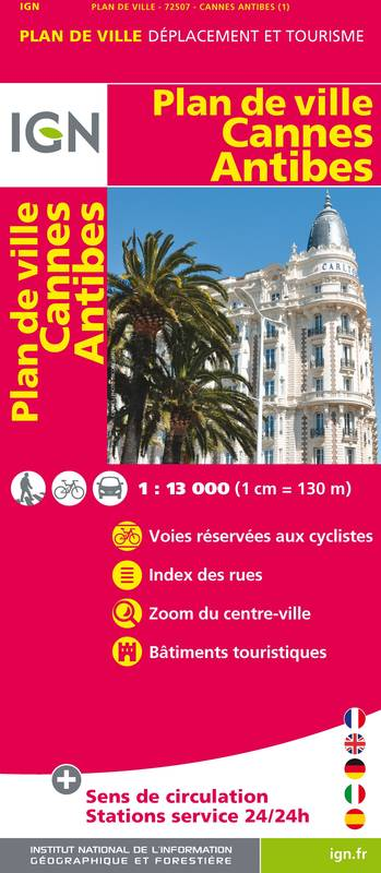 72507 PLAN DE CANNES/ANTIBES