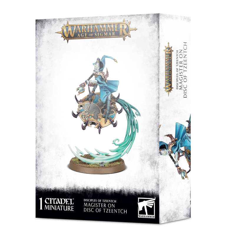 Chaos Tzeentch Arcanists - Magister on Disc of Tzeentch
