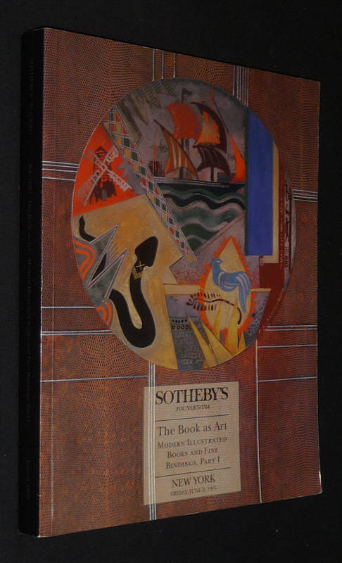 Sotheby's - Modern Illustrated Books and Fine Bindings, Part 1 - Sale 6692 (June 2 1995)