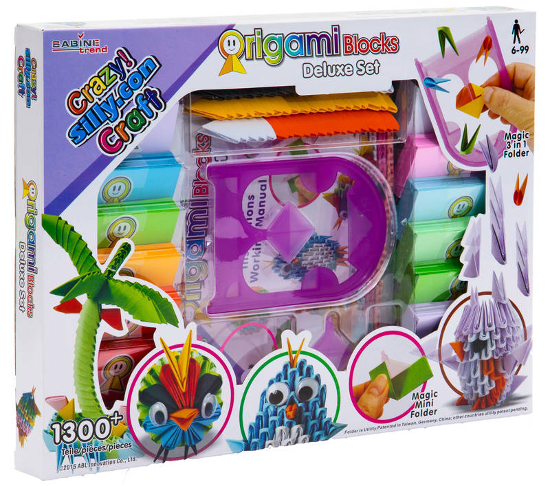 Origami Blocks Set De Luxe 1300 Pices Crazy Silly Loisir Cratif