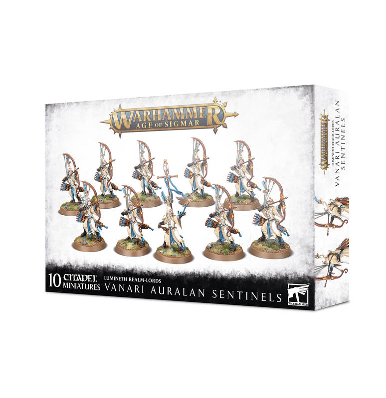 Order Lumineth Realm-Lords - Vanari Auralan Sentinels