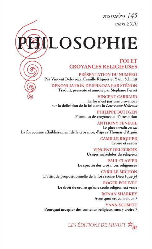 PHILOSOPHIE - VOL145