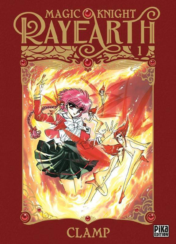1, Magic Knight Rayearth T01
