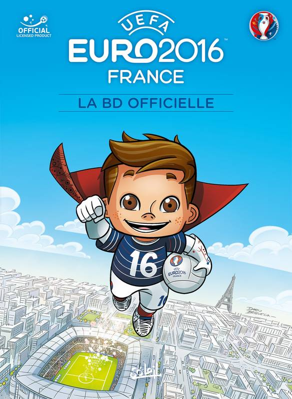 EURO 2016 - La BD officielle