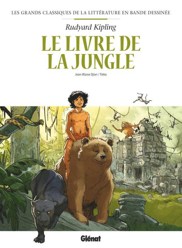 Le Livre de la jungle en BD