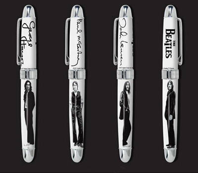 Collection de stylos BEATLES ACME