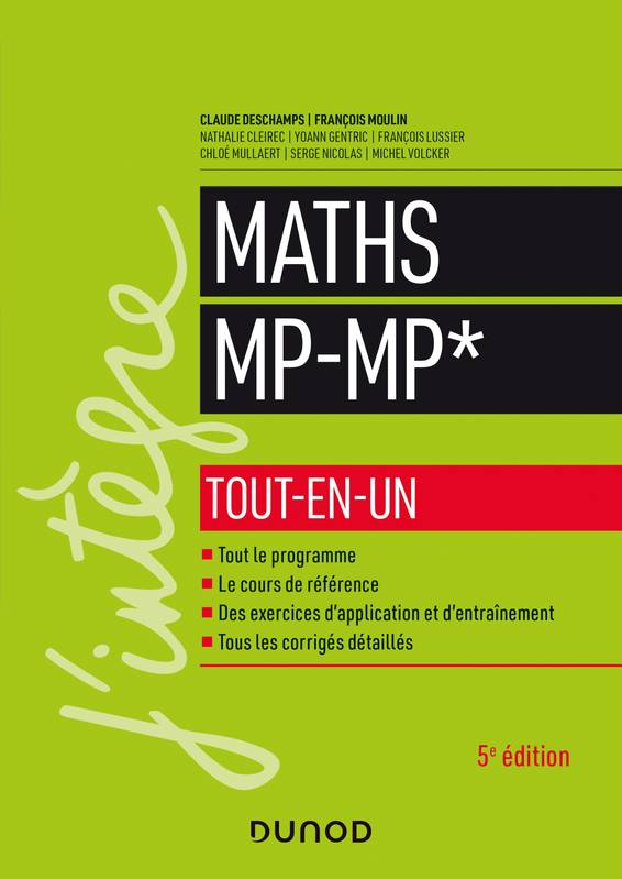 Maths MP-MP* - Tout-en-un - 5e éd