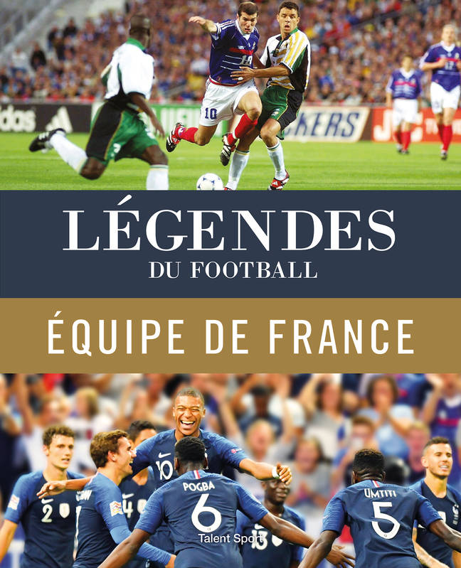 Légendes du football - Équipe de France