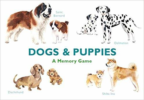 Dogs & Puppies A Memory Game /anglais