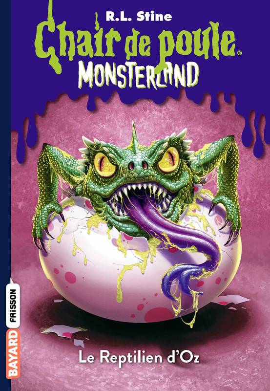 Monsterland, Tome 10, Le Reptilien d'Oz