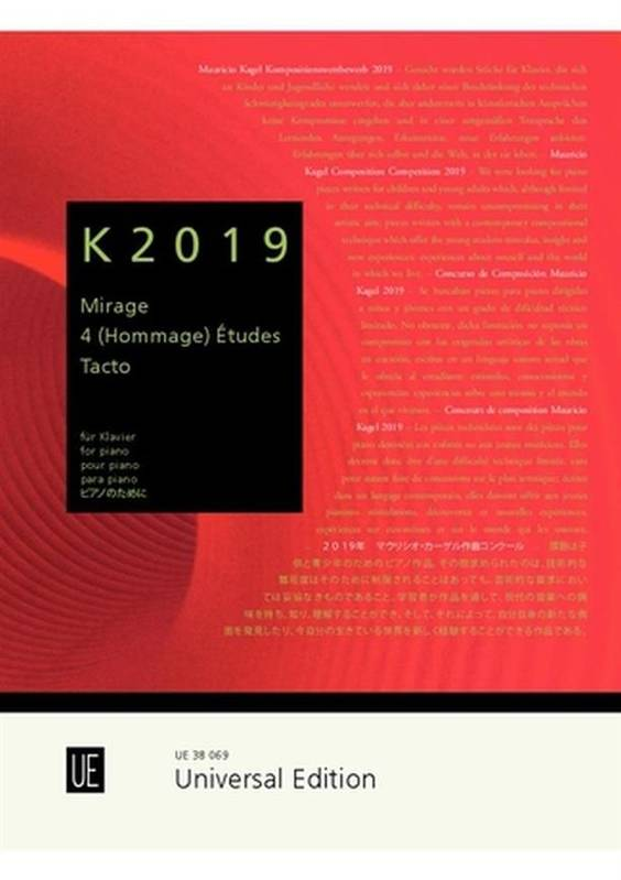 K2019, Mauricio Kagel Composition Competition 2019