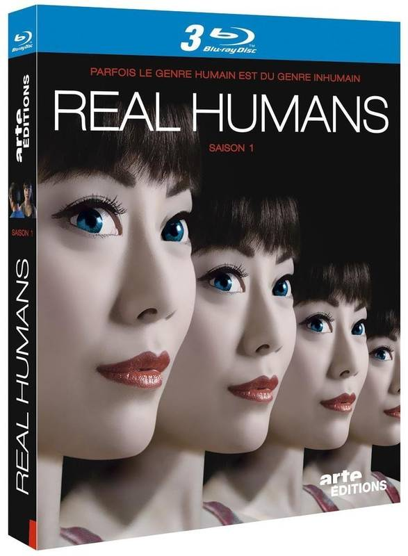 Real Humans Saison 1 - 3 Blu Ray