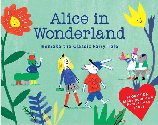 Story Box Alice in Wonderland /anglais