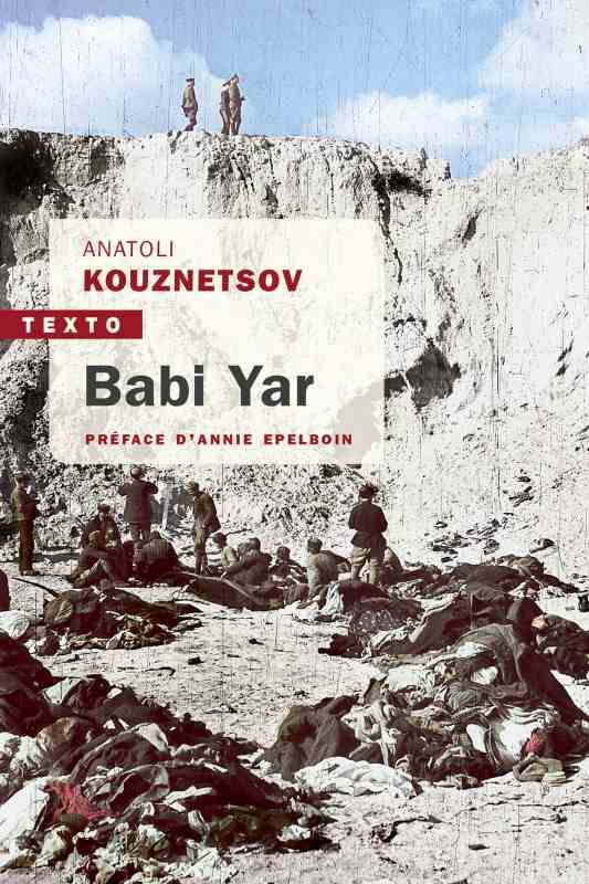 BABI YAR, Roman-document