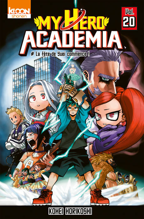 My hero academia tome 20