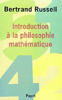 INTRODUCTION A LA PHILOSOPHIE MATHEMATIQUE
