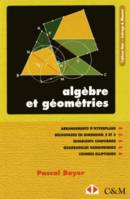 ALGEBRE ET GEOMETRIES - ARRANGEMENTS D'HYPERPLANS, DECOUPAGES EN DIMENSION 2 ET 3, INVARIANTS CONFOR