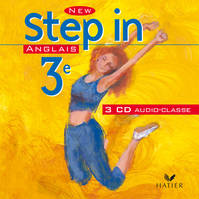 New Step In Anglais 3e - 3 CD audio classe, éd. 2003
