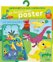 Gommettes Poster Dinosaures