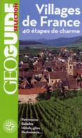 Villages de France, 40 étapes de charme