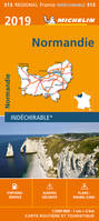 CARTE REGIONALE 513 NORMANDIE 2019