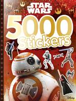 Star Wars VII, 5000 STICKERS