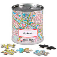 Amsterdam city puzzle magnets