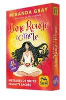 LUNE ROUGE - L' ORACLE - 41 CARTES. MESSAGES DE NOTRE FEMINITE SACREE