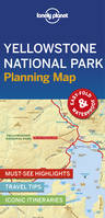 Yellowstone National Park Planning Map - 1ed - Anglais