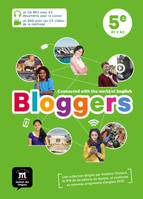 Bloggers ; anglais ; 5e ; pack CD + DVD