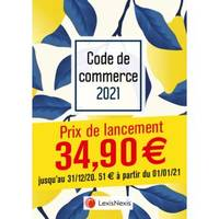 Code de commerce 2021 / jaquette tropical