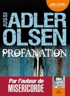 Profanation, Livre audio - 2 CD MP3 - 572 Mo + 567 Mo