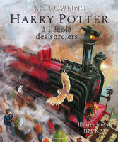 album HARRY POTTER A L'ECOLE DES SORCIERS - VERSION ILLU