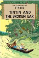 TINTIN AND THE BROKEN EAR (COUV SOUPLE), Livre broché